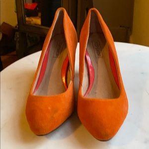 Top Shop orange heels